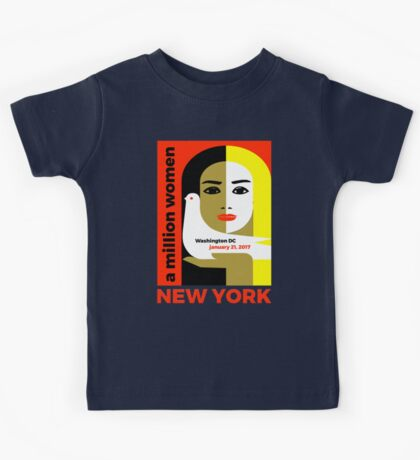 Women's March On New York - Post Inauguration Kids Tee
