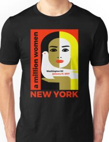 Women's March On New York - Post Inauguration Unisex T-Shirt