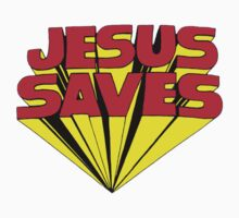Jesus Saves by ThisIsFootball
