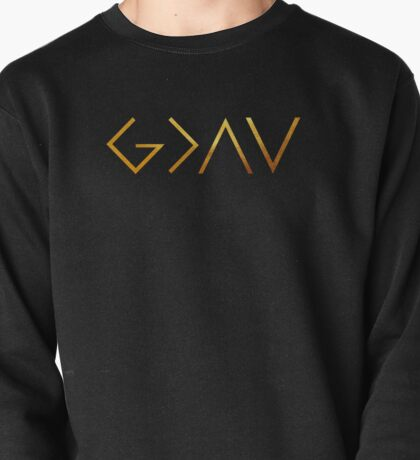 God Is Greater Than the Highs and Lows Pullover