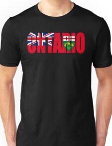 Ontario Flag Unisex T-Shirt