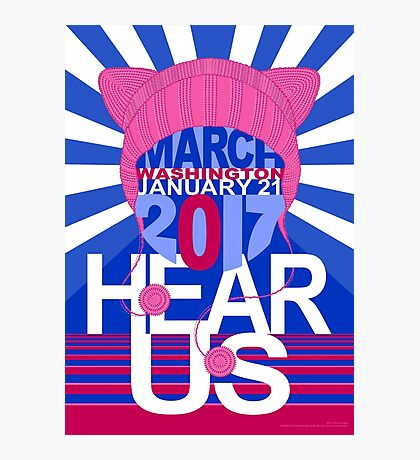 Pussyhat Project / Women's March on Washington 2017 vII Photographic Print