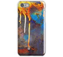 Crackled Paint Abstract iPhone Case/Skin
