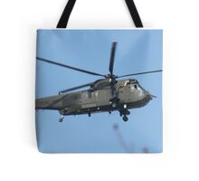 Royal Navy Helicopter. Tote Bag