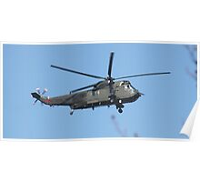 Royal Navy Helicopter. Poster