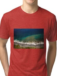 Ocean's Breeze - Nature Photography Tri-blend T-Shirt