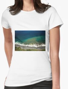 Ocean's Breeze - Nature Photography Womens Fitted T-Shirt