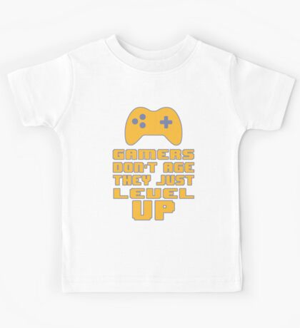 Gamer's Life - We don't Age Kids Tee