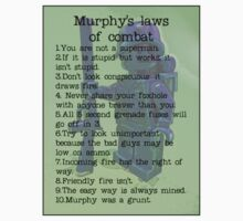 Murphy was a grunt, by Tim Constable T-Shirt