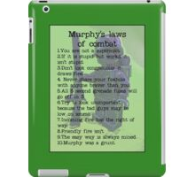 Murphy was a grunt, by Tim Constable iPad Case/Skin
