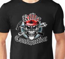 Construction Skull: Killer Construction Red 1.1 Unisex T-Shirt