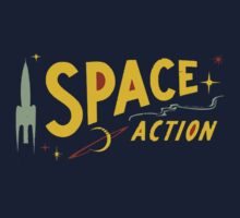 Wilde & Sweet - Space Action! Kids Tee
