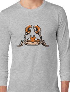 Krabby Pixel Art Long Sleeve T-Shirt