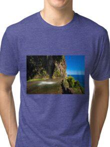 Paradise Land - Nature Photography Tri-blend T-Shirt