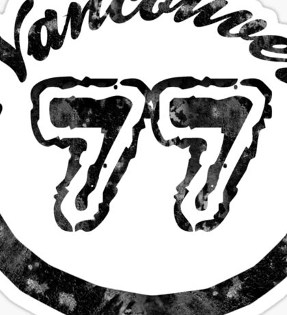 Vancouver 77 Sticker