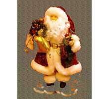 Jolly Santa  Photographic Print