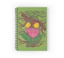 Green Heart Spiral Notebook