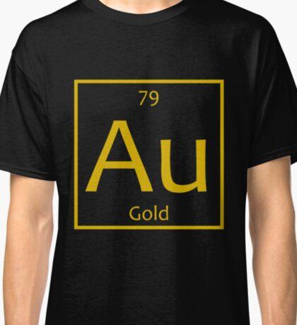 Gold (Au) Chemical Symbol Classic T-Shirt