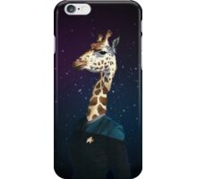 Enterprising Giraffe iPhone Case/Skin