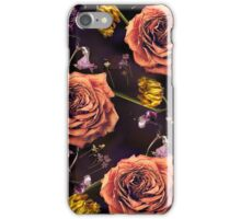 Dead flowers/ Death and Love iPhone Case/Skin