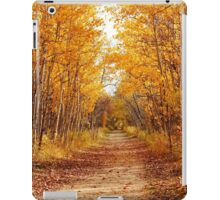 Autumn on the Harte Trail iPad Case/Skin