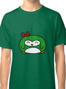 Girly Green Penguin Classic T-Shirt