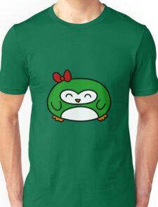 Girly Green Penguin Unisex T-Shirt