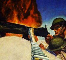 Vintage World War I Save Your Cans Ammunition Sticker