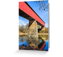 Indiana's Williams Covered Bridge Greeting Card