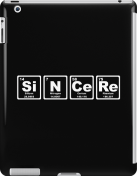 Sincere - Periodic Table by graphix