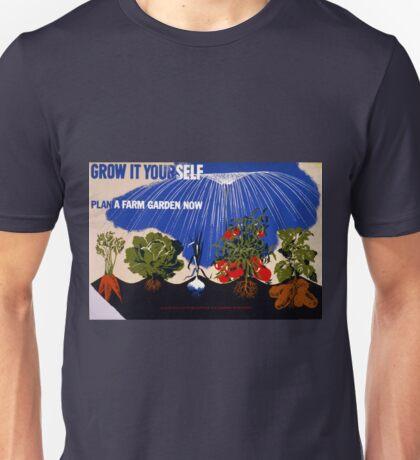 Vintage World War II Victory Garden Unisex T-Shirt