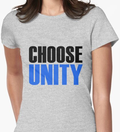 CHOOSE UNITY Womens Fitted T-Shirt