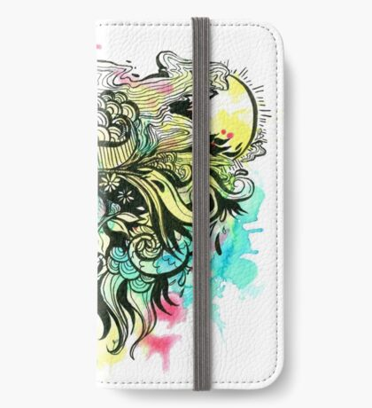 Abstract Eye iPhone Wallet/Case/Skin