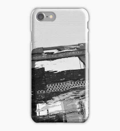 Reflection of bridge iPhone Case/Skin
