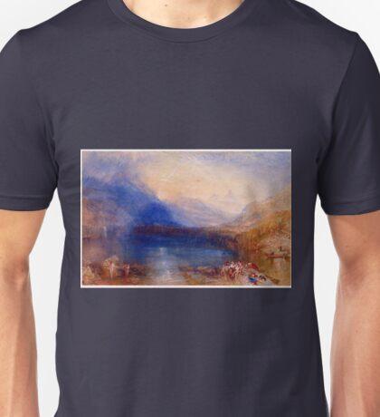 The Lake of Zug Joseph Mallord William Turner Unisex T-Shirt