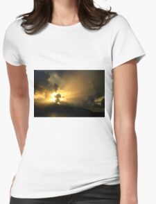 Magnificent Sky - Nature Photography Womens Fitted T-Shirt