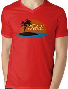 Tahiti Mens V-Neck T-Shirt