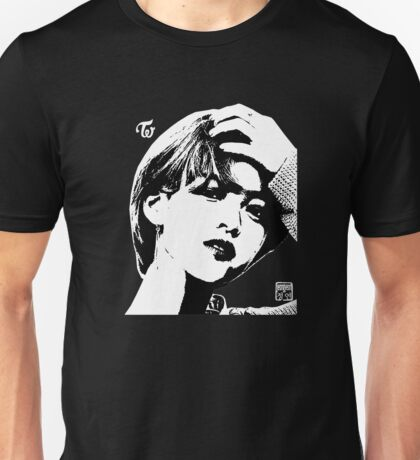 twice jeongyeon - threshold (on black) Unisex T-Shirt