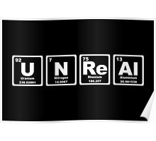 Unreal - Periodic Table Poster