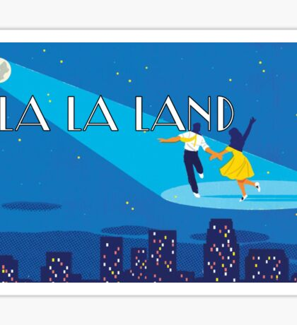 la la land logo 2 Sticker
