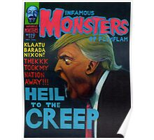 Infamous Monsters: Donald Trump Poster