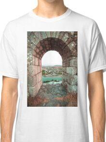 Castle Window - Travel Photography Classic T-Shirt