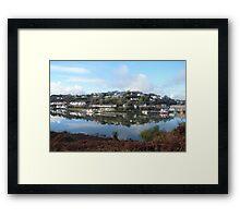Kinsale reflections Framed Print