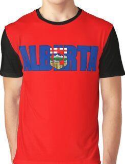 Alberta Canada Flag Graphic T-Shirt