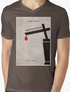 There Will Be Blood Mens V-Neck T-Shirt