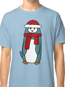 Tall Winter Penguin Classic T-Shirt