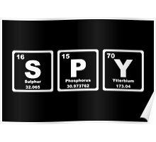 Spy - Periodic Table Poster