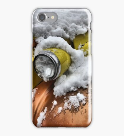 Yellow,gold and snow  iPhone Case/Skin