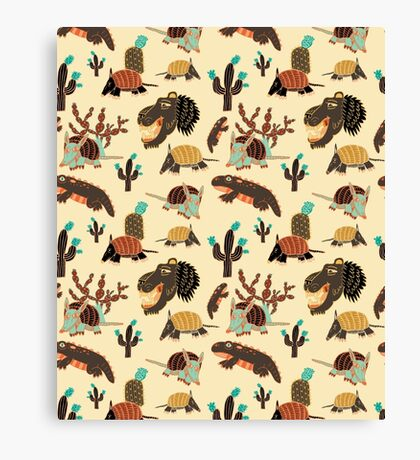 Desert Creatures Canvas Print
