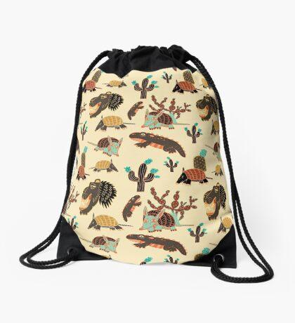 Desert Creatures Drawstring Bag